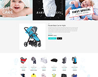 Shopify theme & Magento theme for Baby & Nursery Store