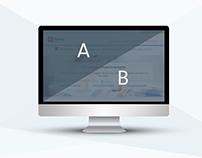 Fidelity Website - A/B Testing