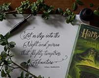 Wizard Inspired Calligraphy