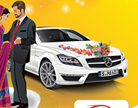 car rental leaflet