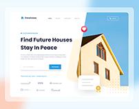 Omahewa - Landing page concept
