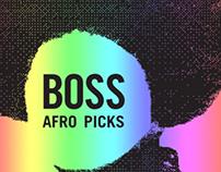 Boss Afro Pick