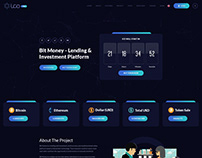 ICO Pro - Bitcoin Cryptocurrency Landing Page Template