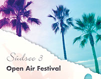 Poster Design - Suedsee 3 Event