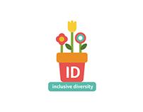 Inclusive Diversity Logo/Symbol Vodafone Ireland