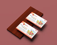 Simple Bussiness Card Design