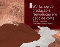 III Workshop de produção e reprodução de gado de corte