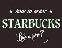 Motion Graphics | How to order Starbucks like a pro