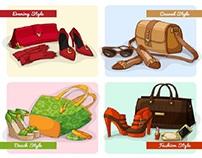 Product illustration design