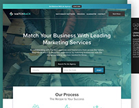 MatchBack Brand, Stationary, Poster & Web Design