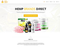 Hemp Brand Direct Website Design