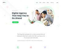 Gulli Digital Agency Landing Page