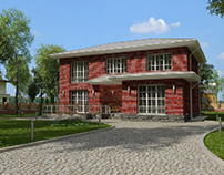 PRIVATE HOUSE architecture and design 184 м² 2020