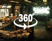 360° Panoramic Game Environments