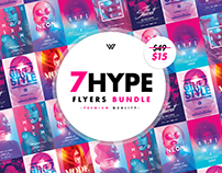 7 HYPE FEMININE Flyer Bundle