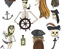 Pirates + Skeletons