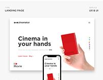 Landing page, мини-проектор, интернет магазин (Ux&Ui)