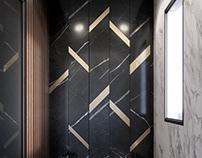 Modern Bathroom, Toronto.