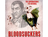 Bloodsuckers Posters Illustrated by Steven Noble