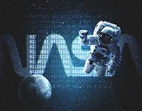Apollo 11 Retro Movie Poster