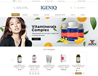 IGENIQ - healthy food and cosmetics