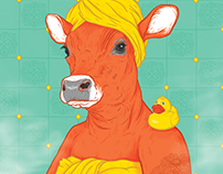 Shower Cow