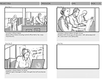 Quick office storyboard