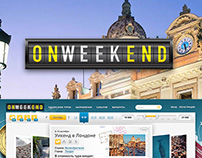 Website development for the company «OnWeekEnd»