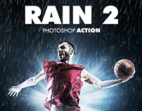 Rain Photoshop Action