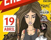 Flyer Feria Emergente