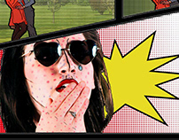 Pop-Art Comic