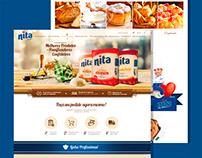 UX UI - Loja Nita Alimentos