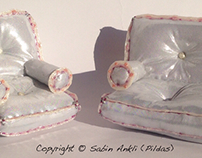 Sabs small doll Sofas Set3
