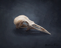 Beauty Bone Deep - Painting by Artist Brooke Figer