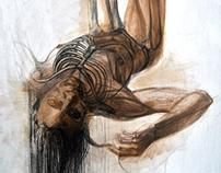 Anatomiy drawings 100x70cm