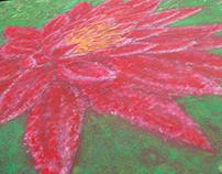 Témperas - Flor de Loto