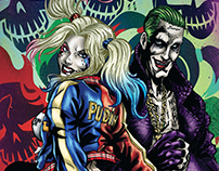 Harley Quinn and Joker- Suicide Squad