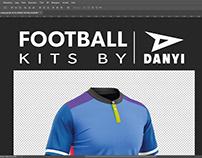 Football kits by DANYI.