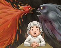 "Children Book: ""The Ghoul and The Phoenix"""