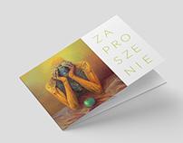 Zaproszenie na wernisaż. Stara Kopalnia. 2016 //
