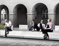 Street furniture design in Opole, Poland