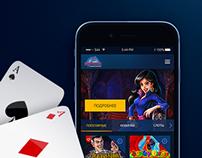 Vulkan Gambling Web Application