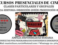 CURSOS PRESENCIALES DE CINEMATOGRAFÍA