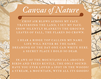 Canvas of Nature | Caitlin Crowe Portland Maine