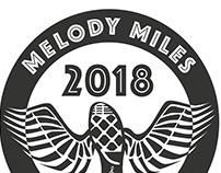 Melody Miles Charity Run Design