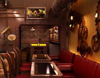 Chonas | Steampunk restaurant