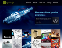 Equity Advertising Corporate Website