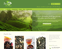 Tea Therapy website