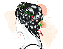 Valentino SS15 / Fashion Illustration