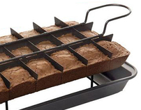 PERFECT BROWNIE Pre-slicing Bakeware